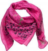 Trachtentuch herziger Hirsch pink