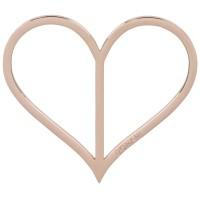 Vorschau: Dirndlspangerl Herz roségold
