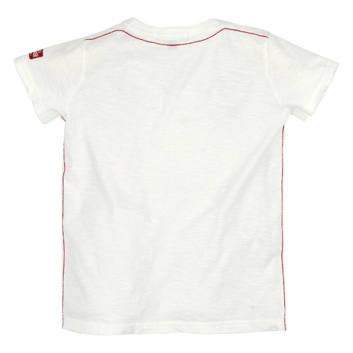 T-shirt 'Space Stag' wit