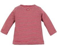 T-Shirt gestreift rot-weiß