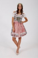 Preview: Krüger Dirndl Floating Roses