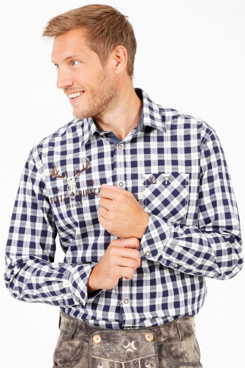 Trachtenhemd Holzfäller
