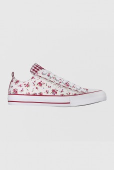 Damensneaker Little Rose Garden