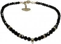 Vorschau: Perlenhalskette Anja gold