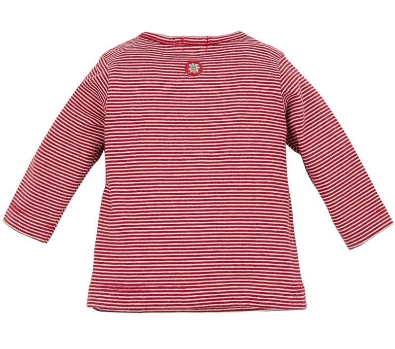 T-shirt gestreept rood-wit