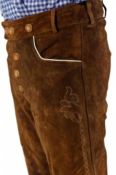 Lederhose Christian, Medium Brown