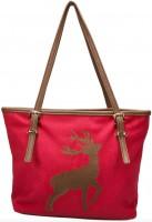 Vorschau: Trachten Handtasche mit Hirschstickerei rot