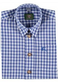 Kinderhemd Tonerl dunkelblau