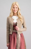 Preview: Traditional jacket Liz in taupe