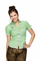 Vorschau: Trachtenbluse Emanuela grün