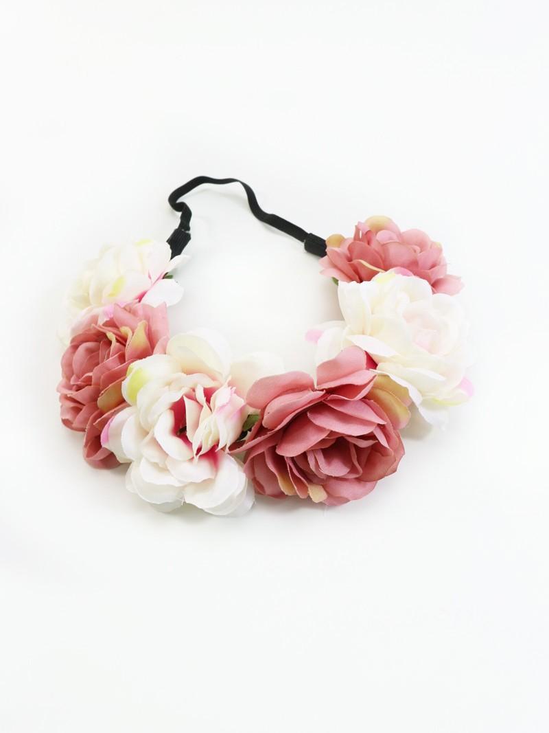 Haarband Elfenzauber rosé-creme
