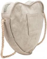 Vorschau: Trachten Herztasche beige