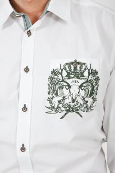 Trachtenhemd Cosmo grün