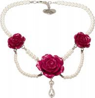 Vorschau: Perlenkette Karina pink