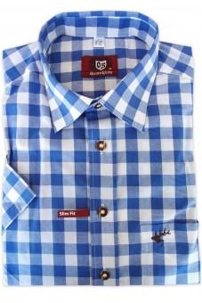 Herrenhemd Hartmut dunkelblau