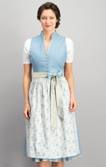 Dirndl Natalia in smoke blue