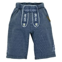 Preview: Trachtenbermuda Benno blue denim