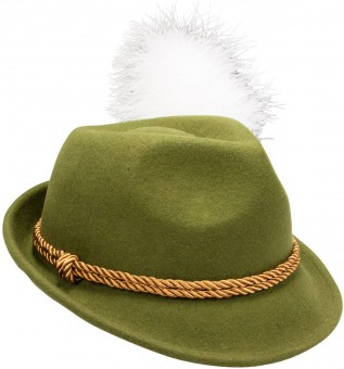 Filzhut Mona grün