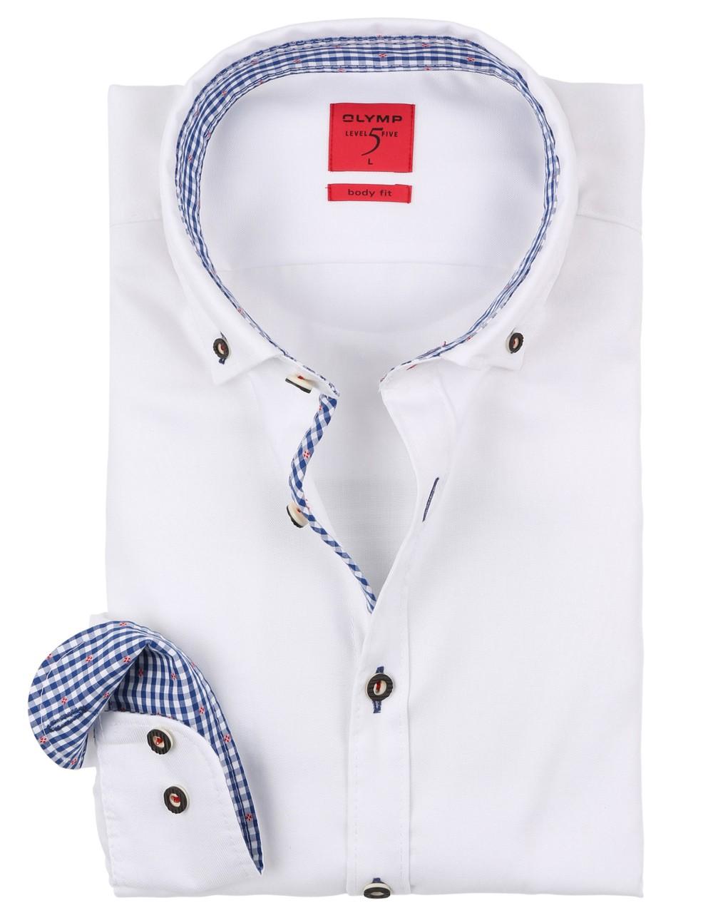 Trachtenhemd Olymp weiß
