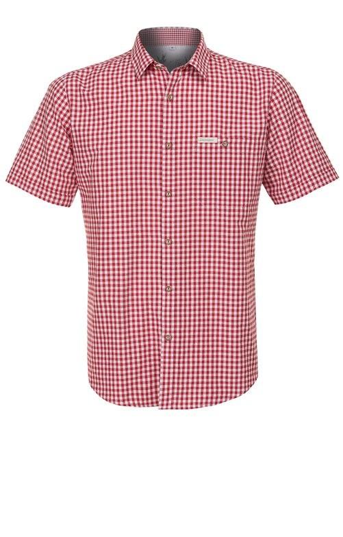 Tradycyjna koszula Renko w kolorze czerwonym