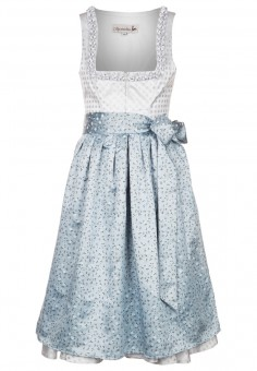 Dirndl Talisa, blue-grey
