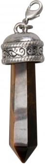 Anhänger Tigerauge-Obelisk