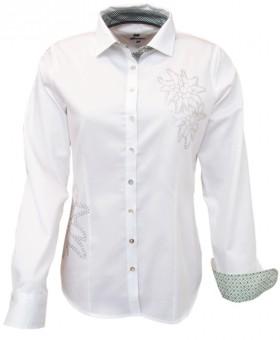 Trachtenhemd Mina weiß