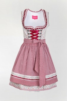 Dirndl Blessed Red