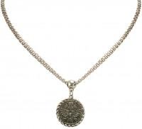 Vorschau: Trachten Halskette Silbertaler