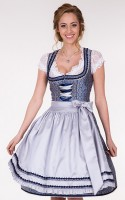 Dirndl Blue Shine