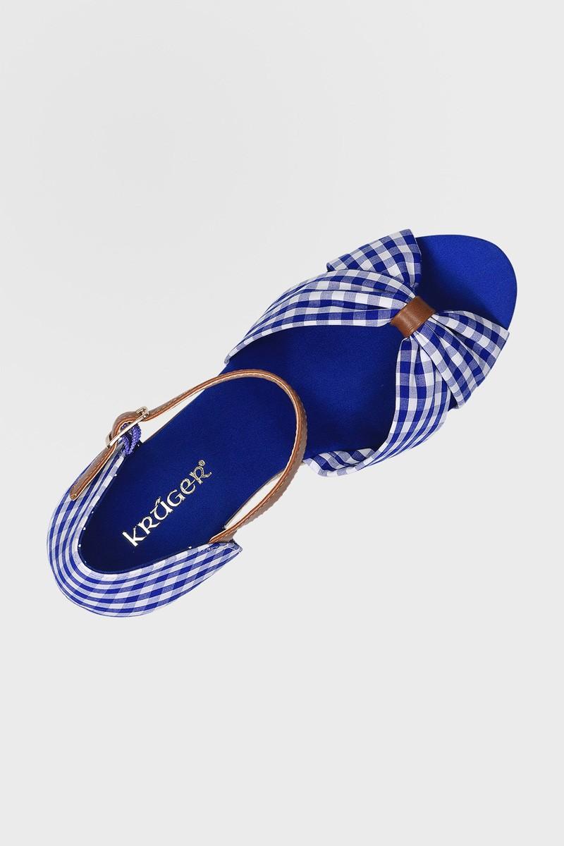 Wedges Hertogin blauw