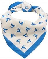 Trachten Tuch Hirschfestl blau