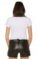 Preview: Jary leather trousers for women