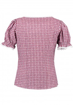 Ladies blouse Bine red