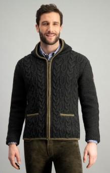 Traditionele sweater Tilo antraciet
