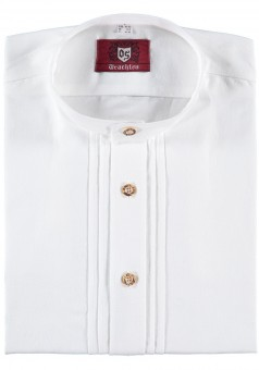 Trachtenhemd Mark mit Stehkragen