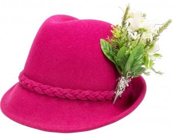 Filzhut Alisa pink