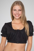 Preview: Dirndl Blouse Viola, Black