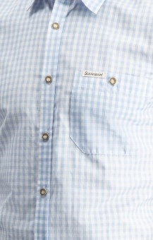 Traditional shirt Campos in light blue