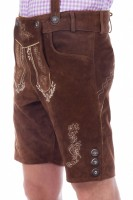 Preview: Lederhose Alfons, Dark Brown