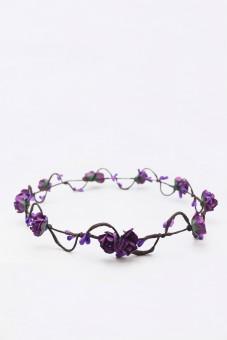 Haarkranz Elfenwunder lila