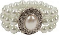 Perlenarmband Madeleine creme