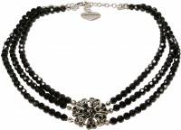 Vorschau: Perlenkette Madita schwarz