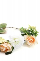 Vorschau: Haarkranz mit gelben Blüten