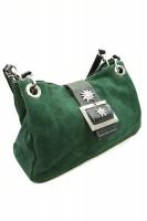 Vorschau: Handtasche Wildleder - grün