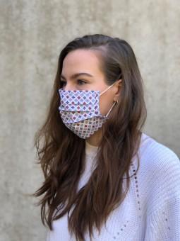 Mund-Nasen-Maske Ella rot