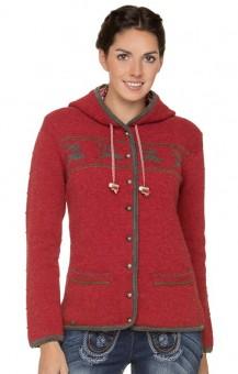 Traditionele sweater Ornella in rood