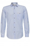 Preview: Traditional shirt Campos in light blue