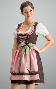 Dirndl Patty in braun