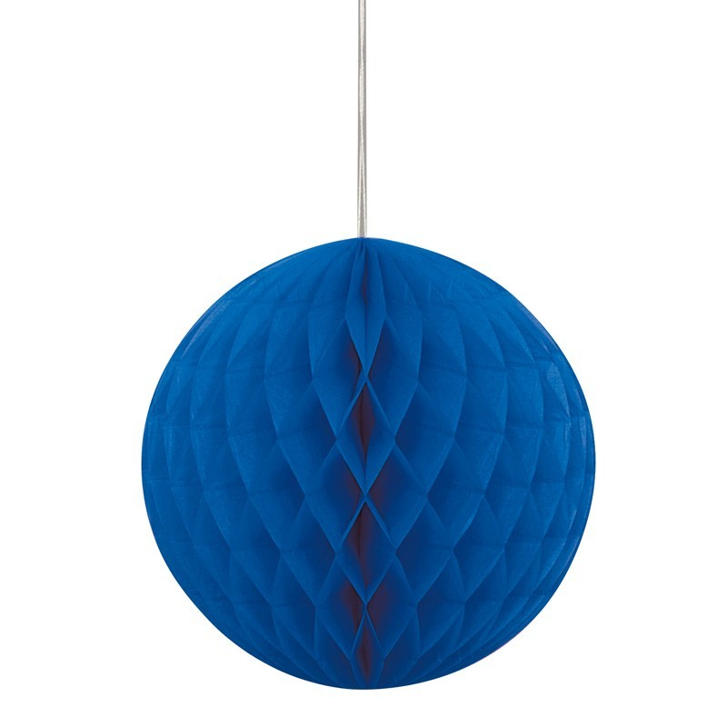 Wabenball in Blau 20cm